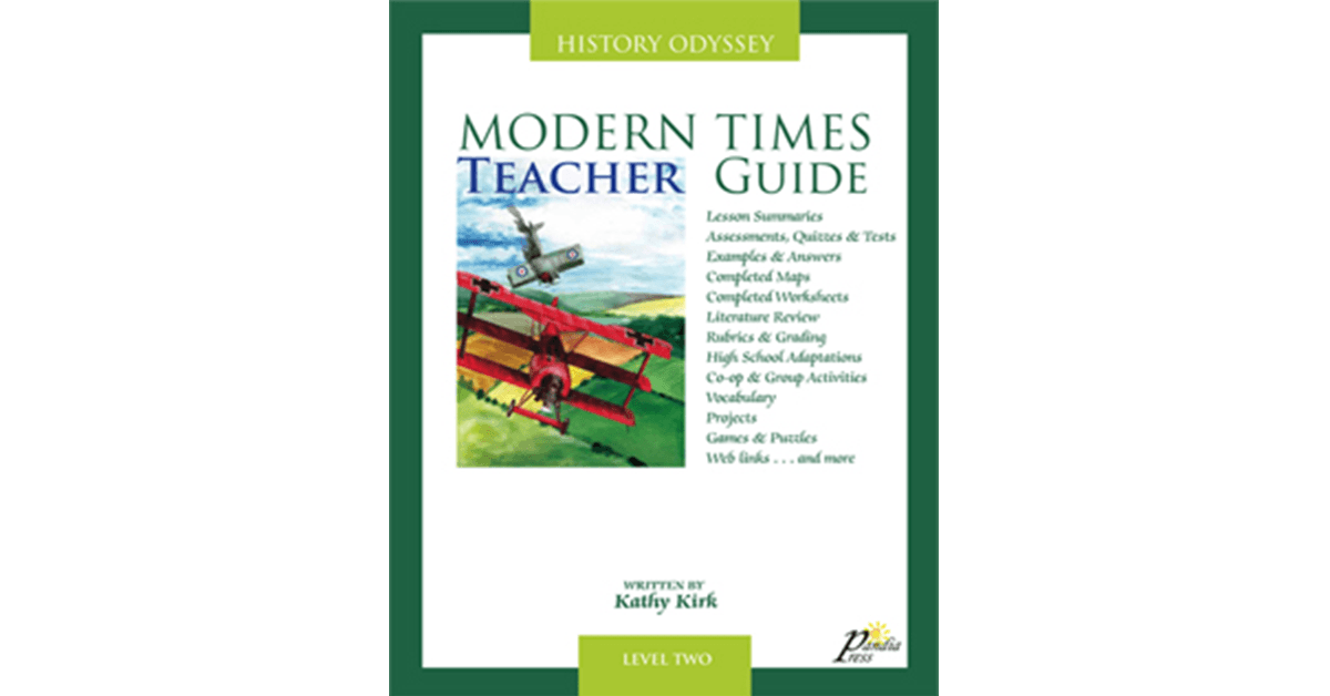 Teacher Guide For History Odyssey Modern Times Level Two Ebook