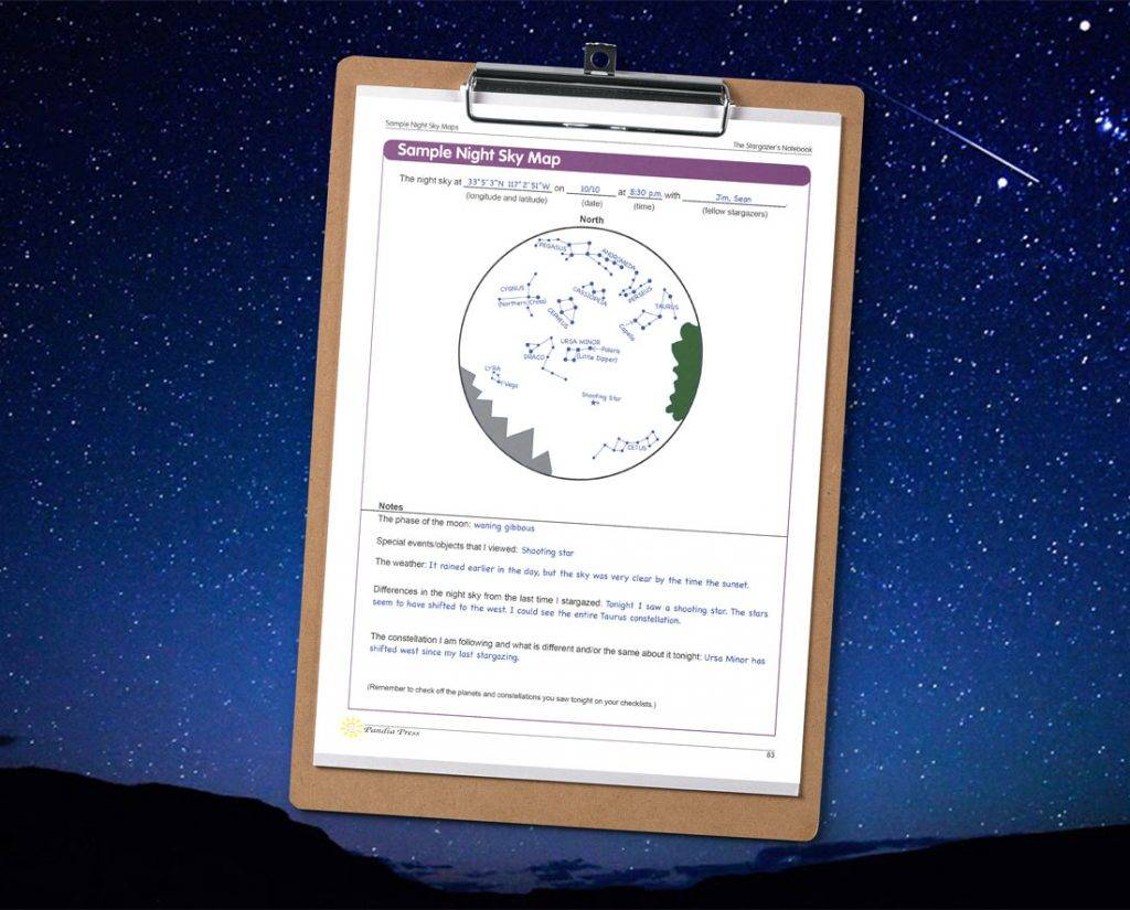 Stargazers Book, The Stargazer's Notebook