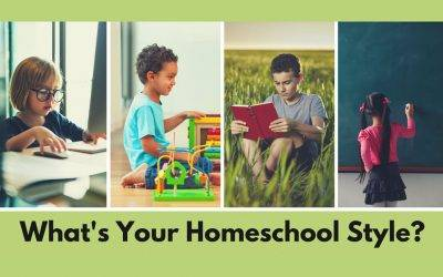 Homeschool Style: From School-At-Home to Unschooling