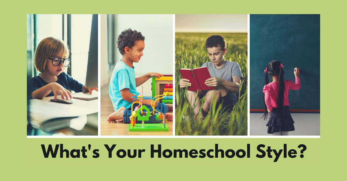 Whats Your Homeschool Style