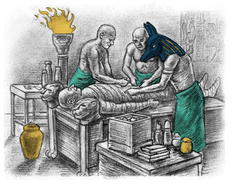King Tutankhamen's mummy, history quest audio download