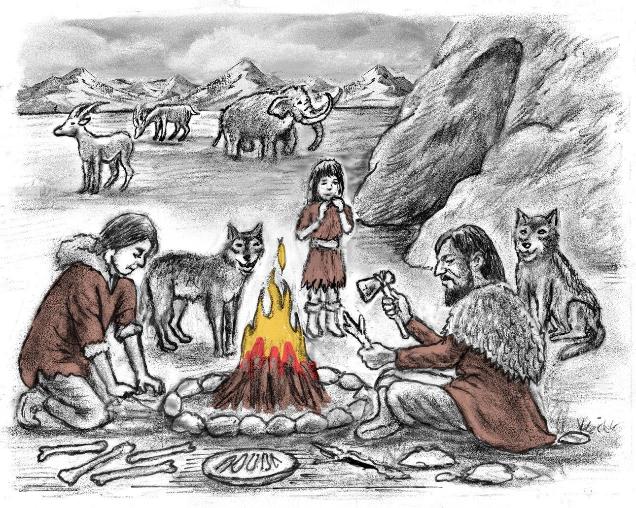 Paleolithic family, history quest audio download
